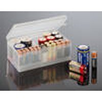 Storage box for batteries