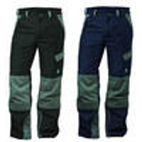 Work Trousers, stain-resistant, colour black, size 32 elysee