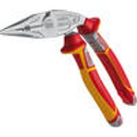 VDE Electrical installation pliers, ergonomic, multifunctional, 200 mm NWS