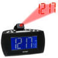 CRP-514 Clock radio, projects time on wall + ceiling DENVER ®