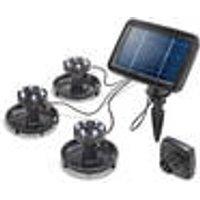 Splash, 3 SolarUnderwater Spotlights, 18 white LEDs Esotec