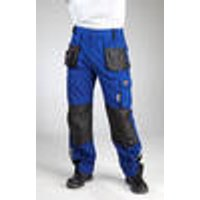 Trousers with Elasticated Waistband, royal, various sizes