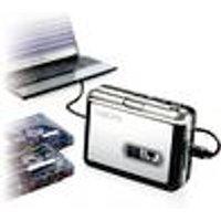 USB cassette player and digital converter, including software LogiLink