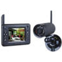 CS83DVR Real-time Digital Camera System, with Wireless Outdoor Camera and Monitor Smartwares ®