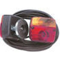 Three-chamber light, magnetic attachment, 7.5 m cable, 7 pole