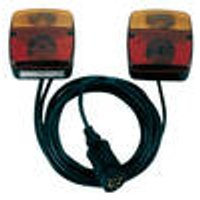 3 function trailer light, with stop, indicator light and cord Westfalia