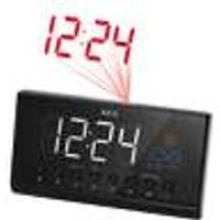 MRC 4141 P Projection clock radio, large LED display, graphic weather display and FM radio AEG Haustechnik