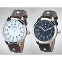 Men's watch, with quartz movement, black Retox