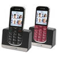 Big button cell phone Joy, 2.2 LCD color display, hearing aid compatible, black Olympia