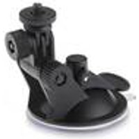 Suction cup holder with camera tripod thread