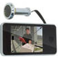 Peephole Camera with 8.1 cm Display, for 14 mm Peepholes BATAVIA