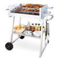 Medium BBQ Box Grill with table and wheels Westfalia