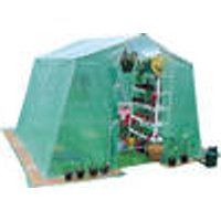 PVC Greenhouse incl. 4 Tension Storm Lines Westfalia