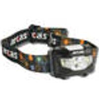LED headlamp, 5 W CREE LED, 2 side spotlights Arcas