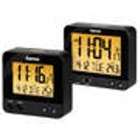 RC540 Radio Alarm Clock, Backlit, with Date and Temperature Display Hama