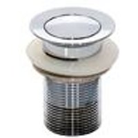 Drain fitting, chrome plated