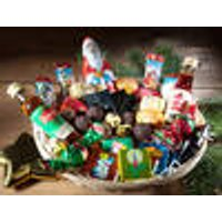 Merry Christmas Basket, 40 pieces - assorted chocolates, sweets & liquers
