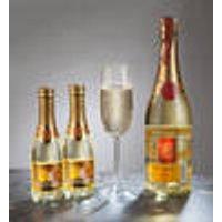 Goldtraum Sparkling Wine Set, 2 x 0.2 l
