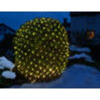 Net light with 200 warm white LEDs, 3 x 3 m, indoor / outdoor