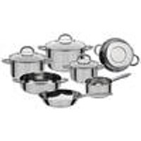 Montreal Stainless Steel Pan Set, 10-Pieces GSW