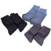 Knee socks with Comfort Band in 2-pack, colour black, size 6/8