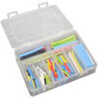 Shrink tubing assortment, 127 pieces, H-2 (Z), coloured
