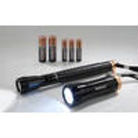 LED Torch Set DUO-C with Batteries Duracell