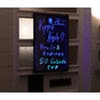 Fluorescent LED Dry-erase Board, 40 x 60 cm