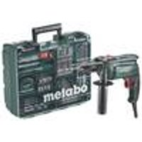 SBE 650 Hammer Drill Set, 650 W, with 64-Piece Accessory Set Metabo