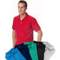 Polo Shirt with zips in various colours and sizes
