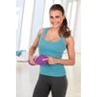 Massage roller vibration, 3 V gray / purple VitalMaxx