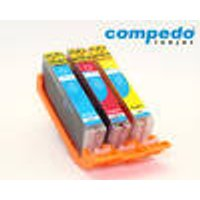 Replacement Ink Cartridge Canon CLI-571 Multipack XL 3P Compedo