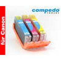Replacement Ink Cartridge Canon CLI-551XL Multipack CMY 3P Compedo