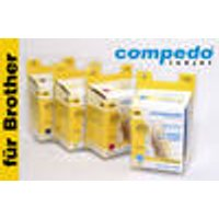 Replacement Ink Cartridge Brother LC980 / LC1100 Multipack CMY 3P Compedo
