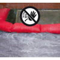 Hydro Snake (3 chamber water barrier), red, Set of 2