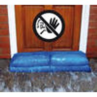 Hydro Snake (3 chamber water barrier), blue, Set of 2