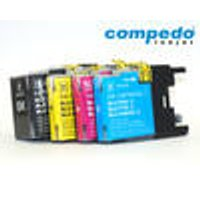 Printer Cartridge Brother LC1280, Multipack, 3 pieces, CMY Compedo