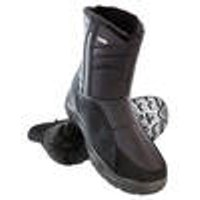 Winter boots with water-repellent membrane, black, size 7