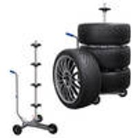 Tyre tree dolly with tyre spacers