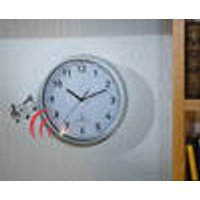 Wireless wall clock with Doorbell
