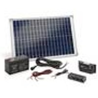 Solar Power Station, 20 Watt with Battery Pack and Sockets Esotec