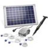 Solar pond aerator, 10 W solar module, 5 x 120 l / h Esotec