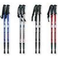 Hiking poles, set of 2, length up to 135 cm, adjustable
