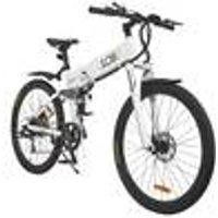 Sport Foldable Electric Mountain Bike, 26, 40 - 50 Mile Range LLobe