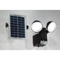 Duo spotlights with solar panel and motion sensor Wetelux