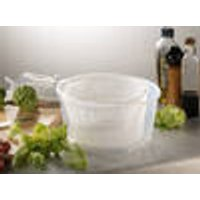 Salad spinner, 24 cm x 16 cm, lid in assorted colours