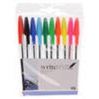 Ballpoint pens, set of 10