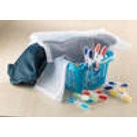 Washing set - washing bag, clothes pegs & basket