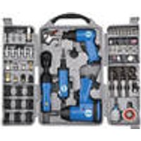Pneumatic Tool Set, 71-pieces G ¼de