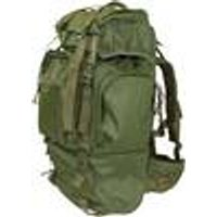 Heavy-duty Backpack, olive, with metal frame